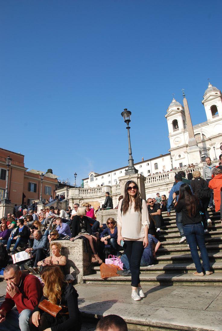 Piazza Di Spagna in Roma,Italy