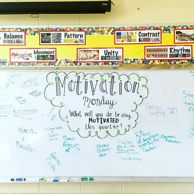 Tried out #miss5thswhiteboard idea with my new 7th grade class! It was a success; students reflected and most importantly I think they really enjoyed doing it!