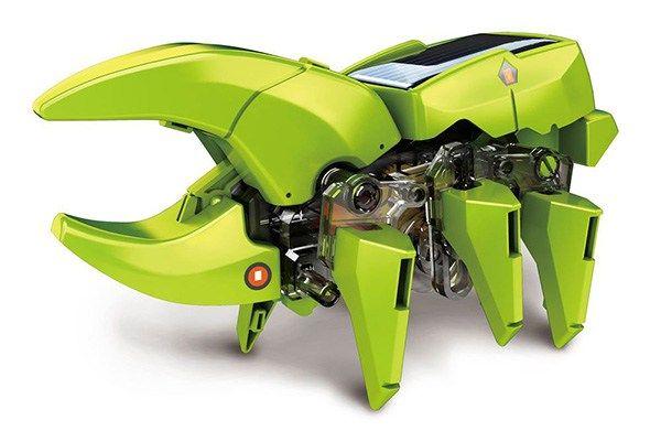 Robot Solar Transformable. 4 modelos; 1 juguete - portal #Ñoño ..--.--....-.- .-....- .-.-.-. ...-.- .-.. . ..----. .. - -...- . .. - ..--.-..-.-..-...--.-.-.-.-.--... -.- ..-......-. -.- .-..-.- . - .- ..-..-.-.-.-. - Robot solar transformable. 4 modelos en uno: dinosaurio, humanoide, insecto y taladro. Funciona con energía solar. Armado mide menos de 10 cms.