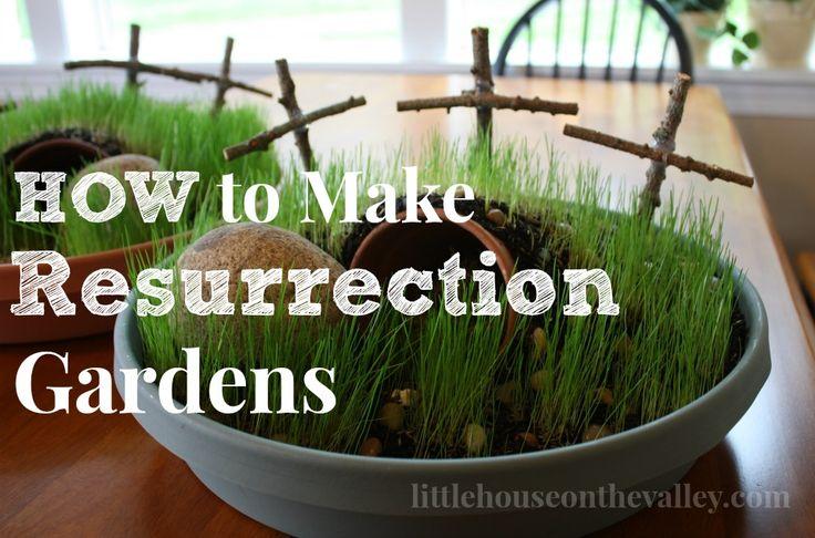 Mini Resurrection Gardens To Make For Easter