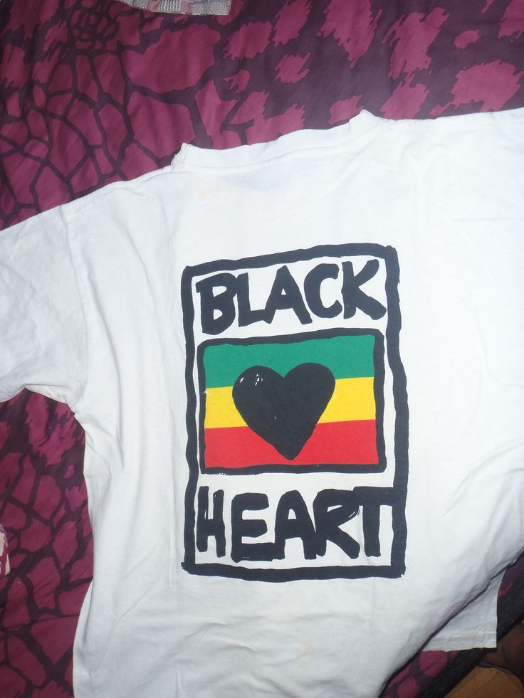 BLACK HEART BACK