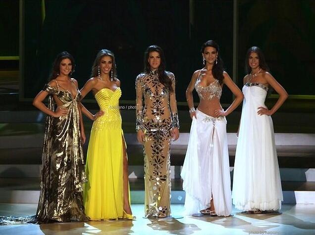 Miss Universe 2008 top 5 Finalist