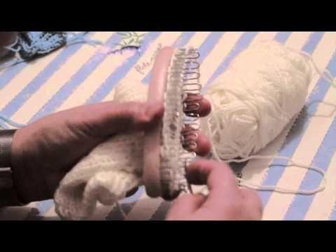 CALZE a mano con telaio - parte 3 - YouTube