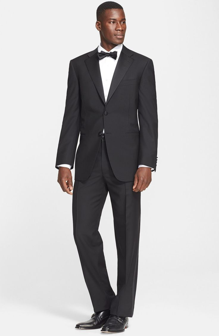 Classic Fit Wool & Mohair Tuxedo - so classic, so timeless!