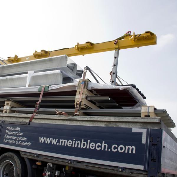 Trapezblech Lieferung von Münker direkt www.meinblech.com