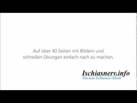 Ischiasnerv Schmerzen / Ischiasnerv Hilfe