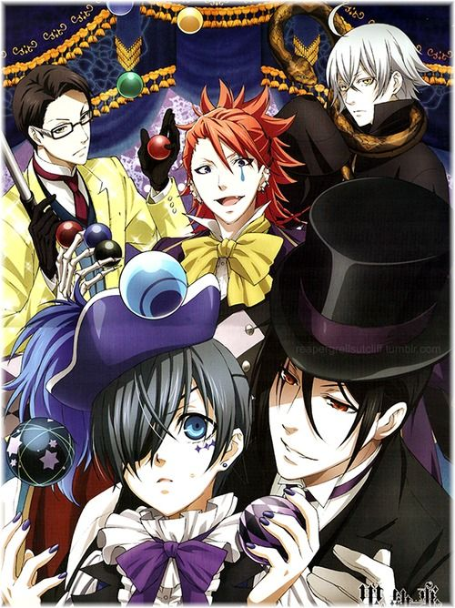 Did you guys know that today is the release of Black Butler Book of Circus in English dubbed!! They have 2 episodes released right now on funimation but I'm pretty sure you have to buy the rest atleast for right now! I've bought mine off eBay the limited edition for $75. So excited!!