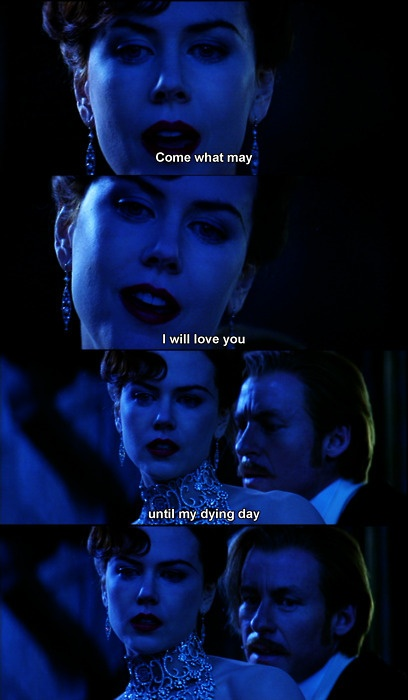 Moulin Rouge ... my favorite song from the movie