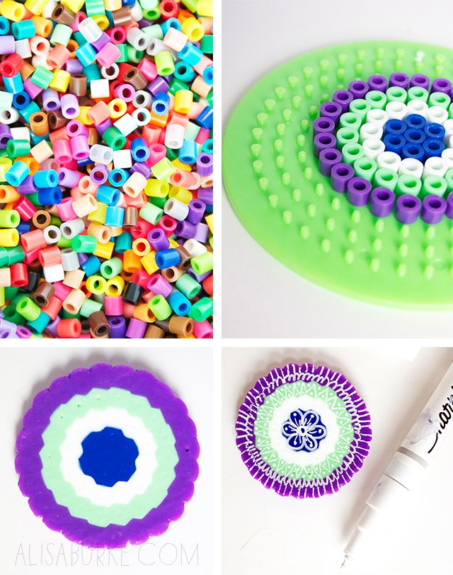 alisaburke: fashion friday- perler bead jewelry