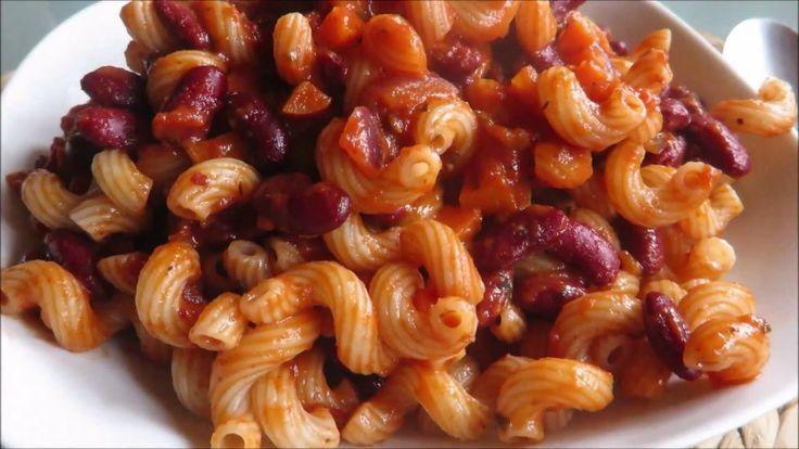 Těstoviny s Fazolkami   Camie Ⓥ