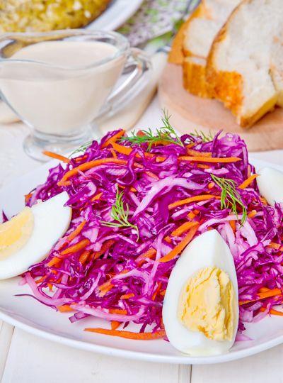 Салат с капустой и дайконом. Рецепт с фото. | Еда XXI века. Кулинарный блог Тимошина Алексея.