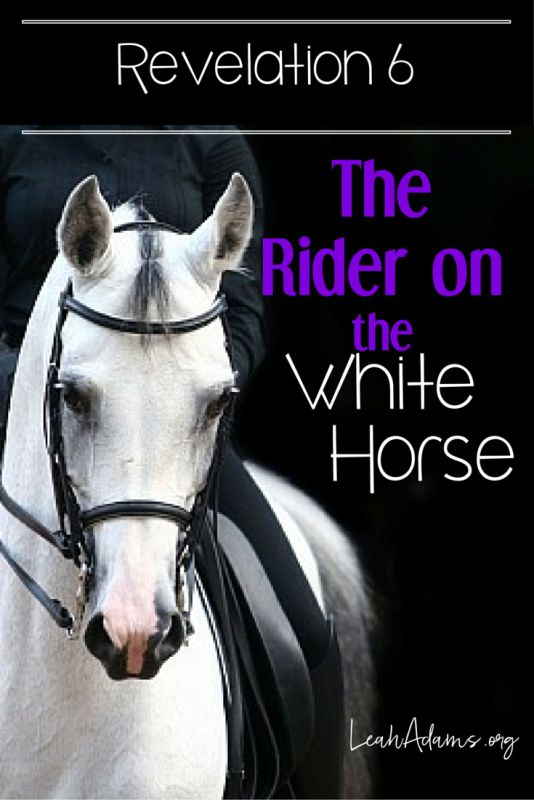 Revelation 6 tells of the four horsemen of the Apocalypse. Today we study the rider on the white horse. Who is he?
