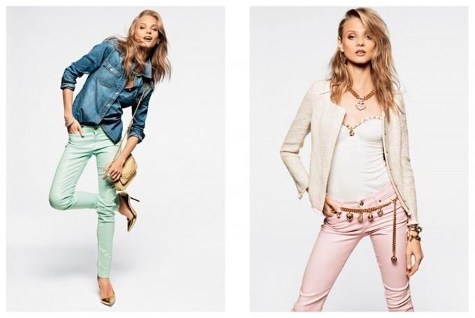 Anna Selezneva, Edita Vilkeviciute and Magdalena Frackowiak Model Juicy Couture's Spring 2013 Collection