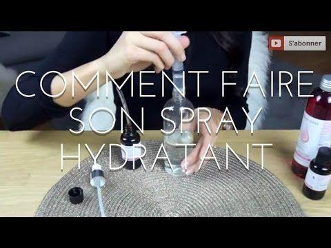 ▶ DIY : SPRAY SUPER HYDRATANT POUR CHEVEUX - YouTube