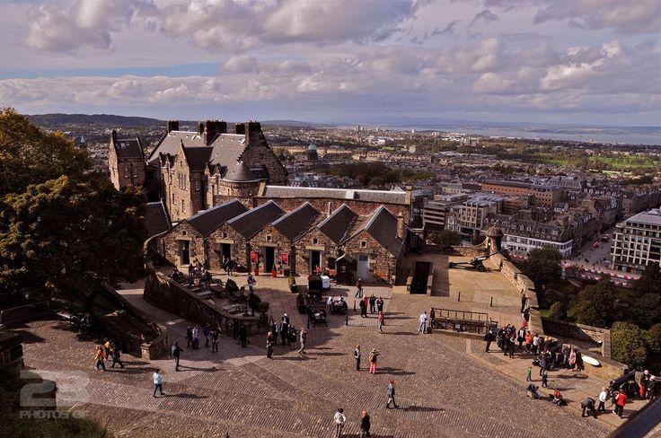 Edinburgh Castle and the New Town photo | 23 Photos Of Edinburgh