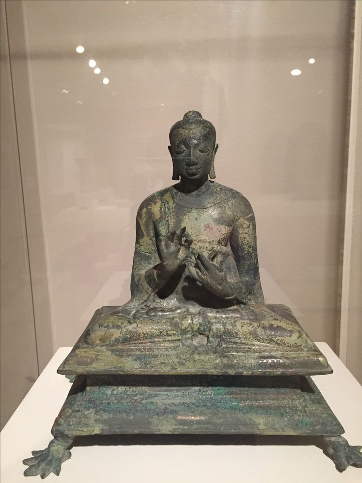 Seated Buddha in Dharmachakra Mudra, Probably the Buddha Shakyamuni, Gupta period, India, ca. late 5th-early 6th century, Asia Society