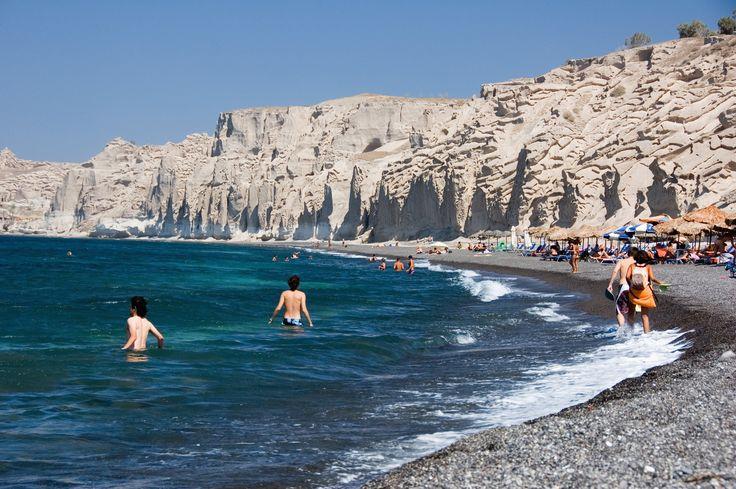 Vlychada  Beach Santorini, Greece
