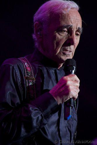 Charles Aznavour per la prima volta allArena di Verona
