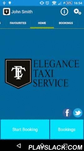 Elegance Taxi Isle Of Man  Android App - playslack.com ,  Elegance Taxi Service, the premier 24 hour taxi service on the Isle of Man. ABOUT THE COMPANY - We are a Douglas based company providing high quality, no smoking taxis at everyday prices. With our polite, friendly, uniformed drivers and high specification, modern cars you can travel in style and comfort. We are the Isle of Man's leading service provider for corporate taxi travel.THE APP - Our App allows you to book your Elegance Taxi…