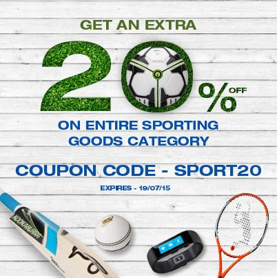17 best deal of the day images on pinterest get an extra 20 on entire sporting goods from usa fandeluxe Images