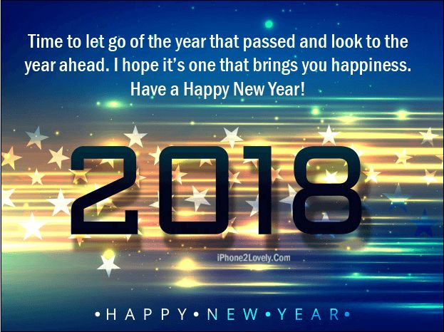 Happy New Year 2018 Blessing Image Wishes