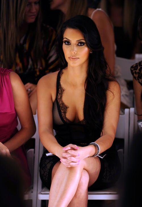 She looks beautiful here: * Kim Kardashian West *