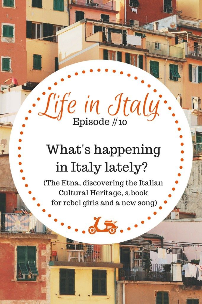 The month of March has been filled with a lot of nice and interesting events, here in Italy. If you want to discover more, check this blog post. You'll read about a volcano, some history, a nice book and a lovely song. Who could ask for more?