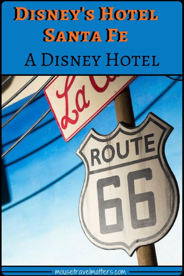 Disney's Hotel Santa Fe, Disneyland Paris. France.