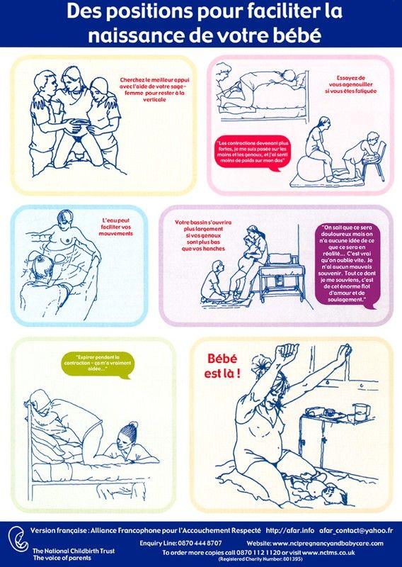 Voici des affiches qui devraient être affichées dans toutes les maternités du monde. Ma sage-femme m'avait donné dernièrement des documents...