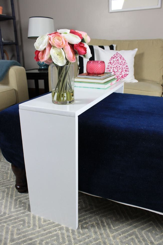 Ana White | Build a Ottoman Table - Featuring Pretty Handy Girl | Free and Easy DIY Project and Furniture Plans