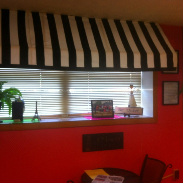 Indoor Awning Window Treatments