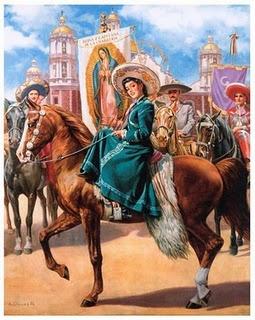 Dia de la Virgen de Guadalupe. Jesús Helguera