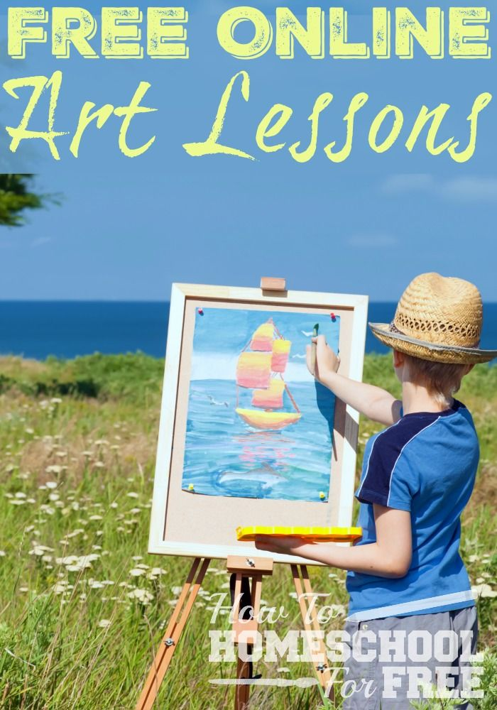 These FREE Online Art lessons look fabulous!