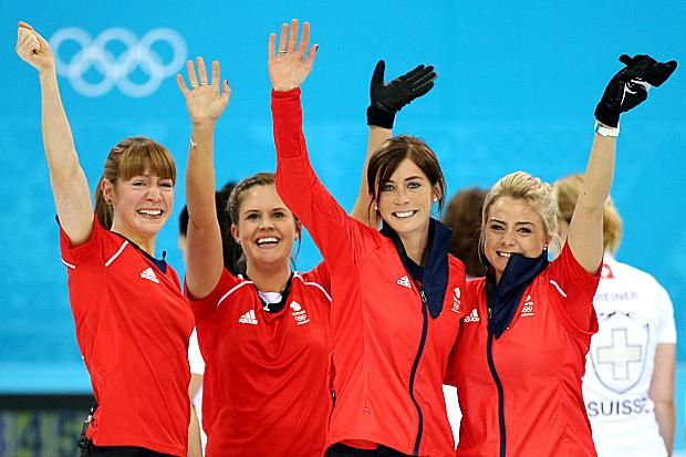 """Eve Muirhead held her nerve to win a bronze medal and inspire Team GB to its best Winter Olympics haul since 1924 in Sochi today. The skip of the curling team had one shot to clinch the point that would give GB a 6-5 win over an experienced Switzerland side. She made no mistake, with what she termed """"a simple draw"""", and succumbed to a flood of tears for the second time in 24 hours."""