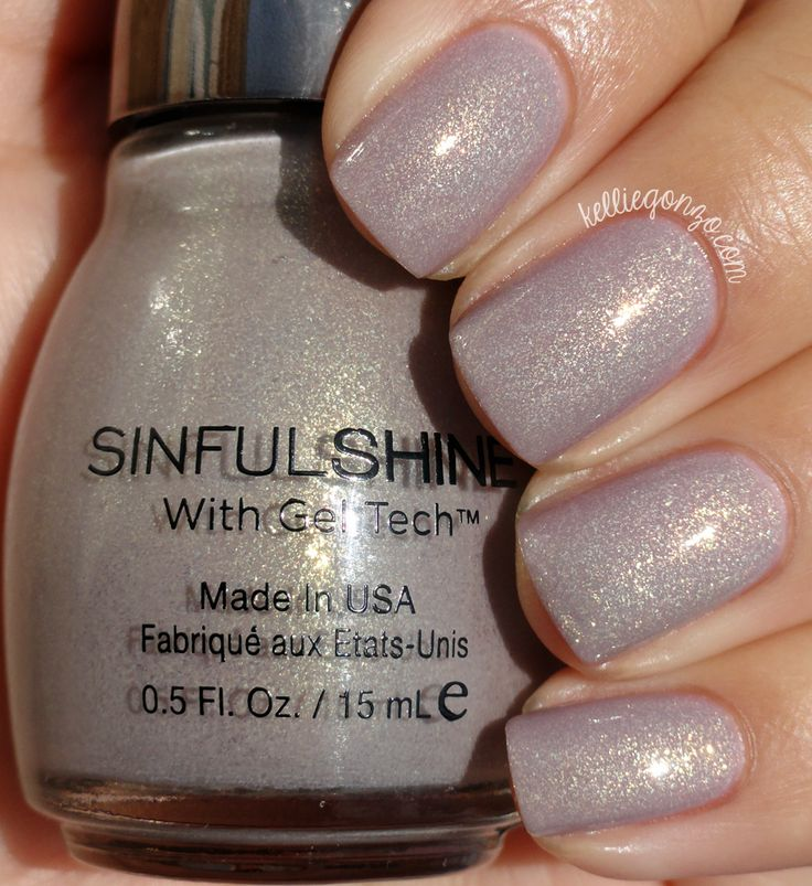 KellieGonzo: Sinful Shine Prosecco Swatch & Review
