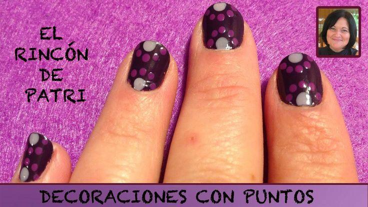 Diseños de uñas de puntos de El rincón de Patri Nail Art. Sigue todos nuestros…