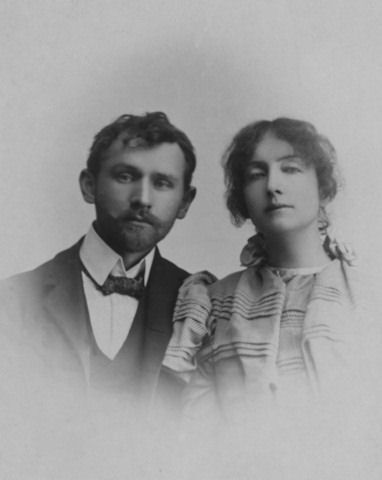 Stanislaw Przybyszewski left his common-law wife Martha Foerder and their two children (born in February and November 1892), and married Dagny Juel (photo) on 18 August 1893. Przybyszewski and Dagny had two children, and while married to Dagny, he fathered another child with Martha (this third child was born on 6 February 1895). Martha was found dead in her home on 9 June 1896, she had died of poisoning by carbon monoxide, it was almost certainly suicide.