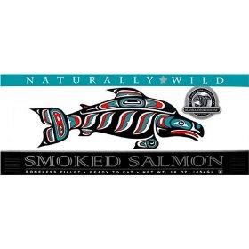 Alaska Smokehouse 16 oz Natural Smoked Salmon 2 Pack $29.95