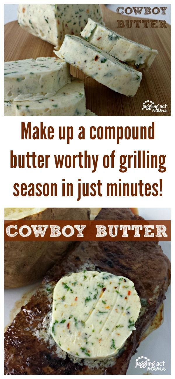 Make up a compound butter worthy of grilling season in just minutes!