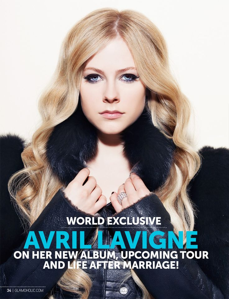 Glamoholic.com | Exclusive Interview: Avril Lavigne on Her New Album, Upcoming Tour and Life After Marriage!