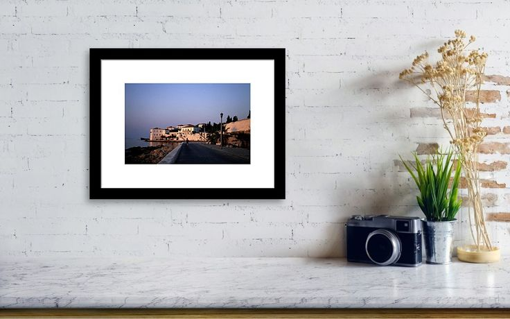 Going for a swim, landscape photo as wall art #Greece #Spetses #landscape #photo #photography #gerhardhoogterp #wallart