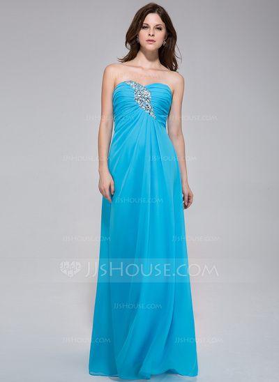 Evening Dresses - $129.99 - A-Line/Princess Sweetheart Floor-Length Chiffon Evening Dress With Ruffle Beading (022027060) http://jjshouse.com/A-Line-Princess-Sweetheart-Floor-Length-Chiffon-Evening-Dress-With-Ruffle-Beading-022027060-g27060