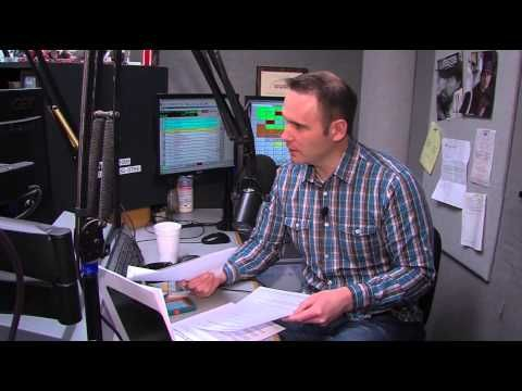 A Day in the Life of a Radio DJ with Sean Streicher - Wednesday, March 2...