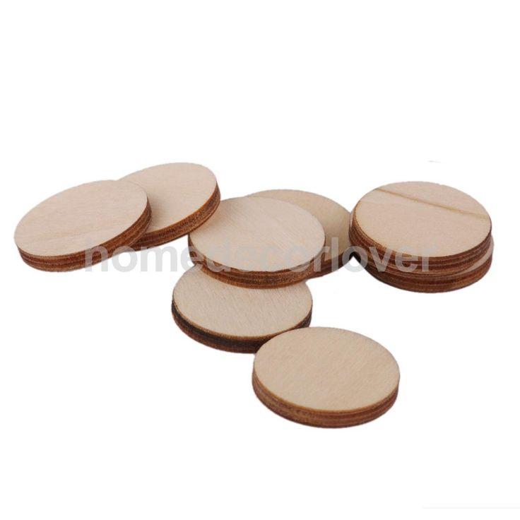 Купить товар100x незаконченный круглый круг деревянные украшения для Cardmaking DIY 20 x 3 мм в категории  на AliExpress.      Описание:       Новое и высокое качество  Деревянные круглые формы, вырезать из древесины высокого качества.  Идеал