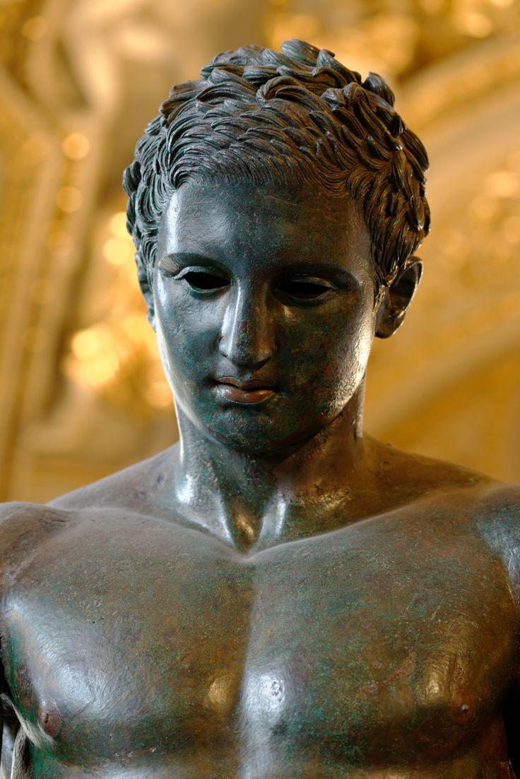The fantastic ancient Greek sculpture of Apoxiomen ( Croatian Apoxiomenos ) , IV B.C. , from Mali Losinj, Croatia  #croatian #apoxiomenos