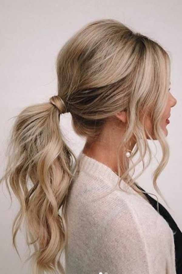 Quick And Classy Beatiful Ponytile Hairstyles 11 In 2020 Simple Wedding Hairstyles Easy Wedding Guest Hairstyles Hair Styles