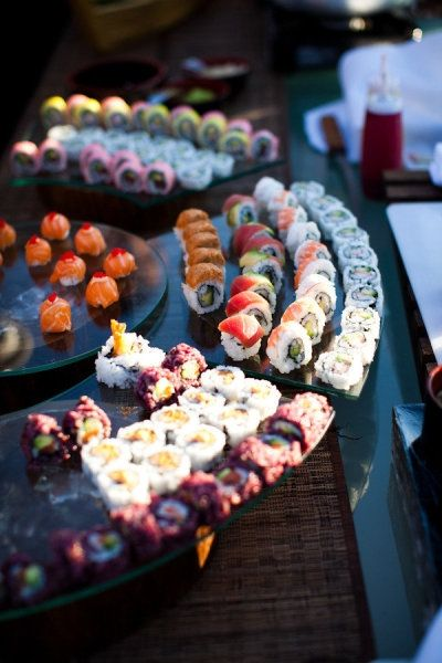 Just a little sushi will do.