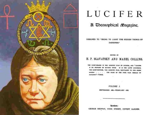 """Madame Blavatsky/ Lucis TrustLucis Trust (Lucifer Publising Company)  is a powerful institution that enjoys """"Consultative Status"""" with the United Nations, which permits it to have a close working relationship with the U.N., including a seat on the weekly sessions, but most importantly, influence with powerful business and national leaders throughout the world.-promoting a globalist ideology,-Luciferian (=Satanic) beliefs. READ More Info…"""