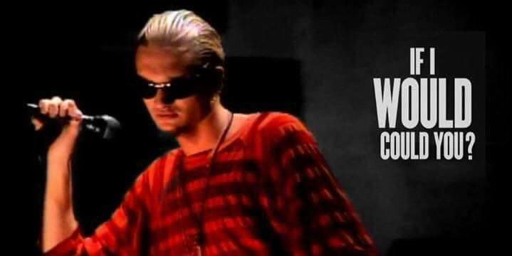 Layne Staley From Alice In Chains In The Music Video For Their