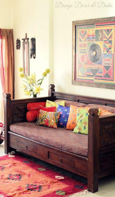 Design Decor & Disha: Home Tour: Kapila Banerjee